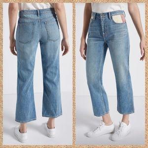 Current Elliott 5 Pocket Vanessa Cropped Mom Jeans